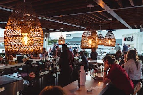 Free stock photo of dinner, gatherings, lights