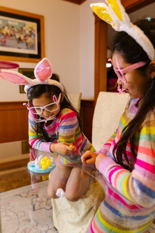 Free stock photo of asian family, bunny, celebrations