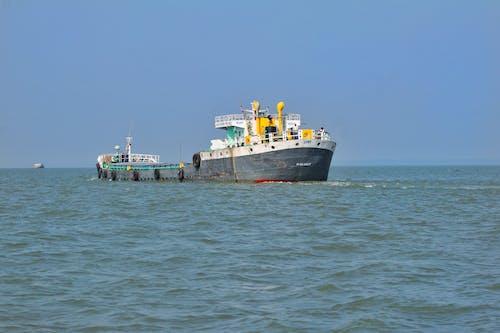 Free stock photo of boat, cargo ship, logistics