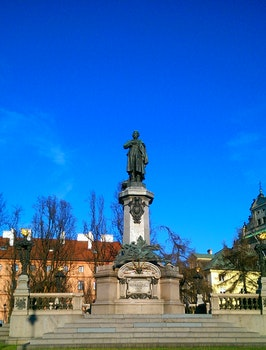 Free stock photo of monument, warsaw