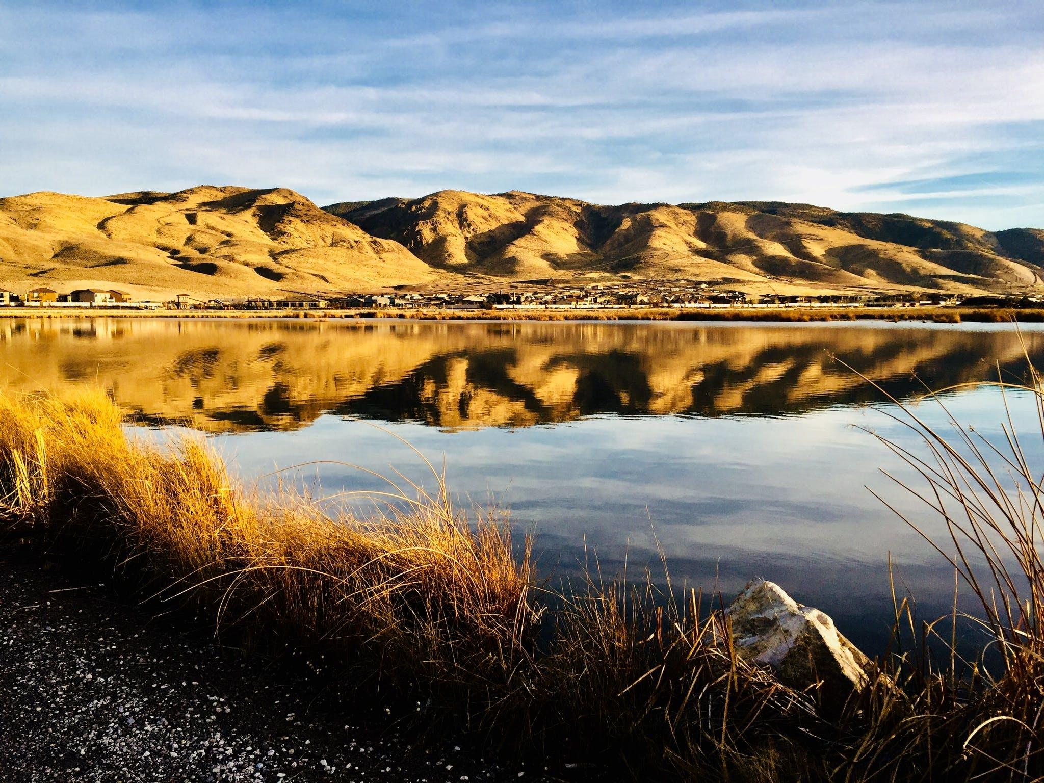 Základová fotografie zdarma na téma denní světlo, domy, hora, kámen