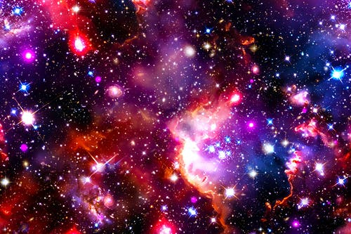 Free stock photo of glaxary, space, stars