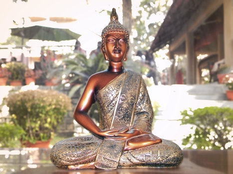 Free stock photo of statue, buddha