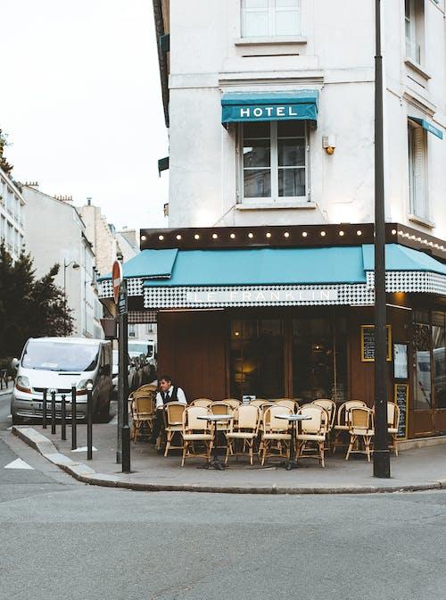 Photos gratuites de architecture, bar, bar café