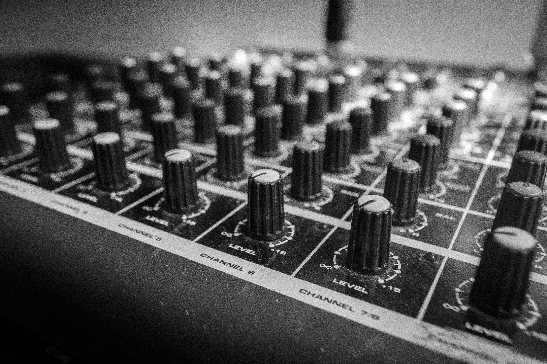 Free stock photo of music, sound, production, volume