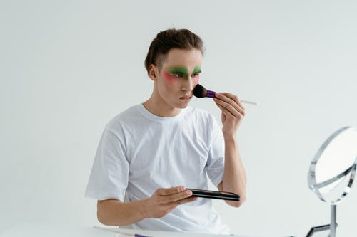 Person Applying Make Up