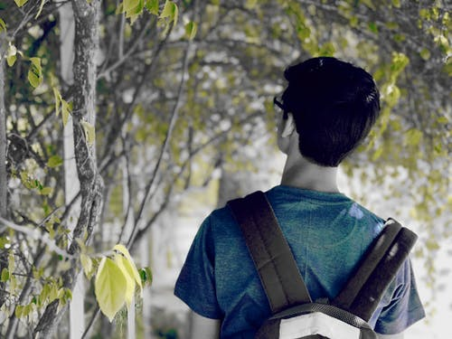 Immagine gratuita di azzurro, iphone, persona