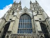 building, historical, church