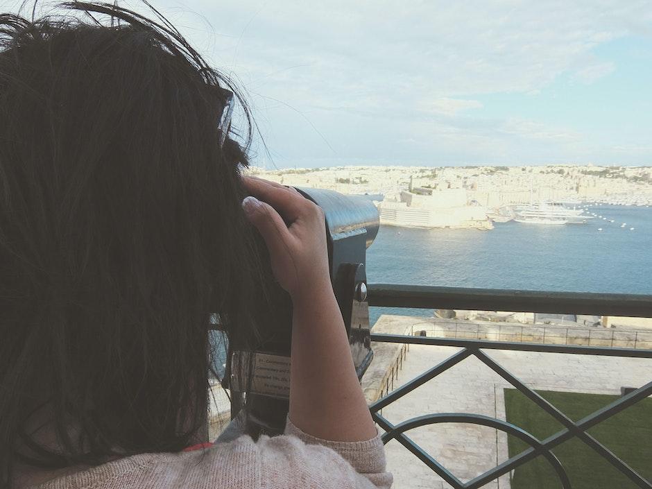 trip, vacation, viewing platform