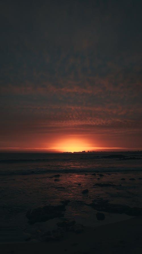 Free stock photo of Atardecer, beach, beach resort