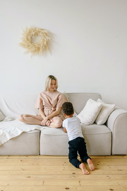 Základová fotografie zdarma na téma bílá, blond, dítě