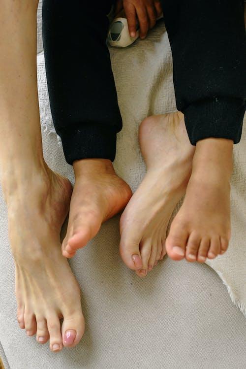Small and Big Bare Feet