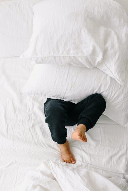 Free stock photo of bed, bedroom, black boy