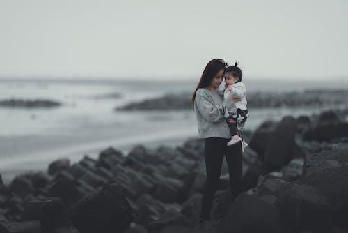 Photos gratuites de amour, brouillard, coucher de soleil