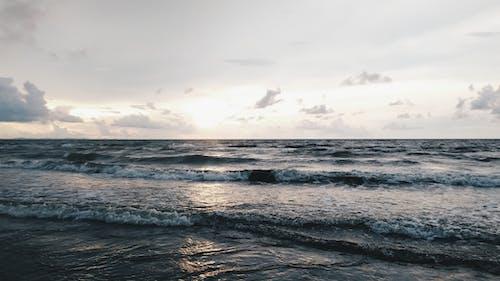 Fotobanka sbezplatnými fotkami na tému búrka, krajina, krajina pri mori, kývať