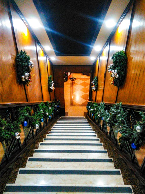 Free stock photo of christmas, downstairs