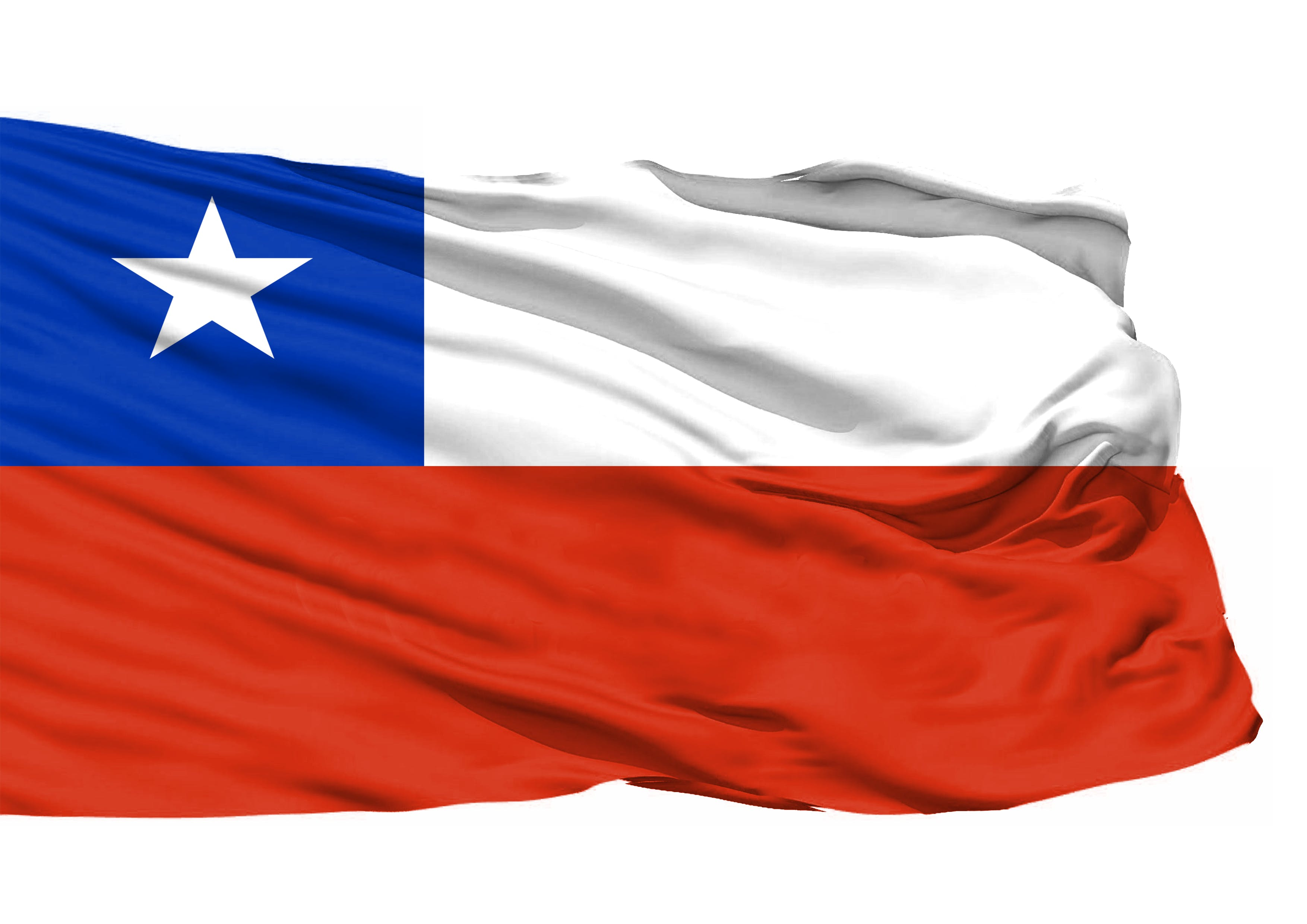 Kostenloses Stock Foto zu chile, nationalflagge, 3d-flagge, flagge chile 3d