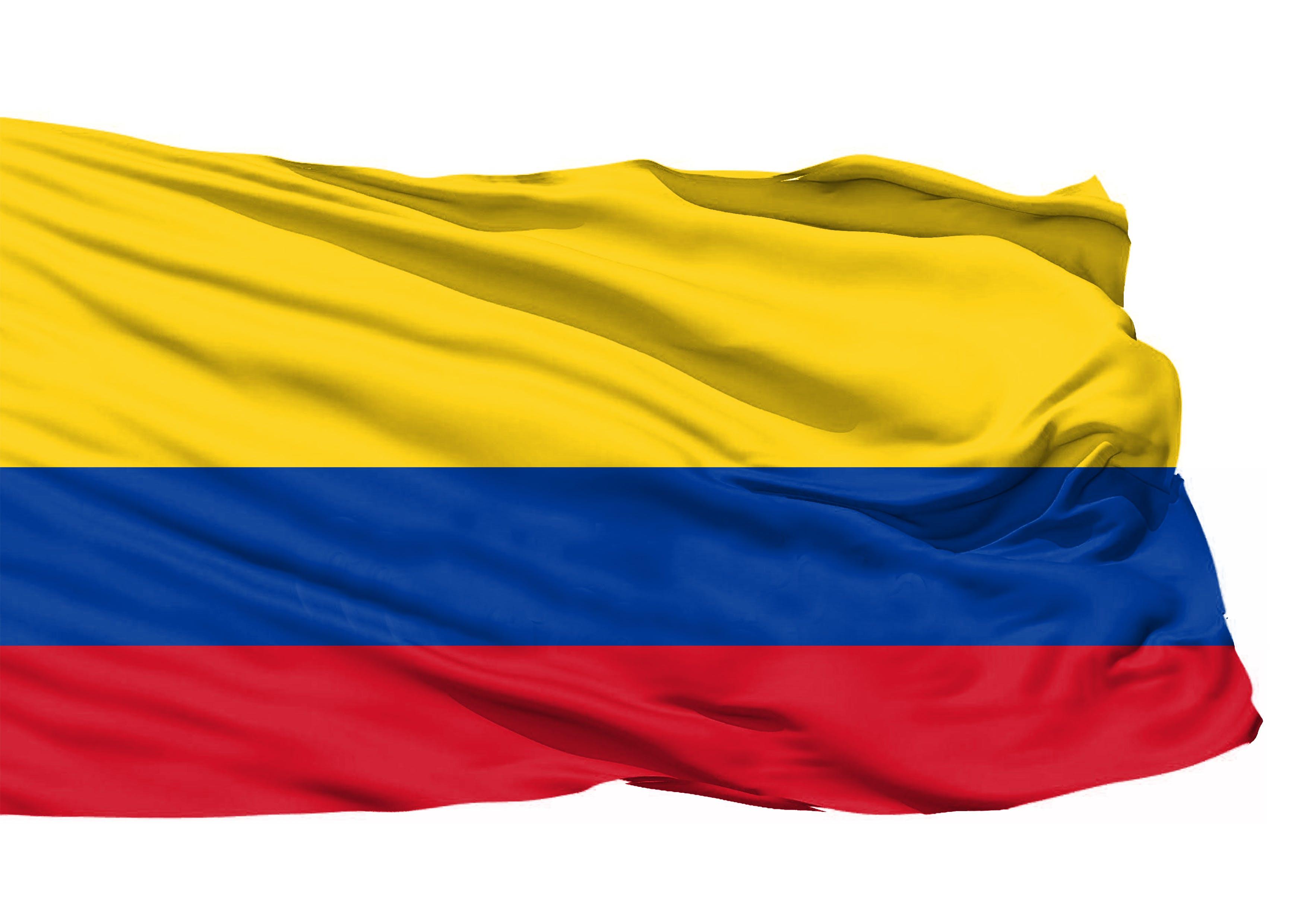 Kostenloses Stock Foto zu kolumbien 3d flagge