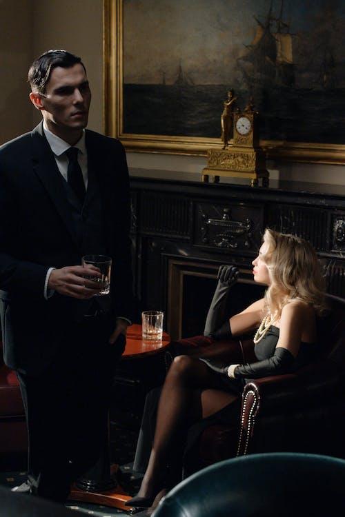 Photo of Man Wearing Black Suit