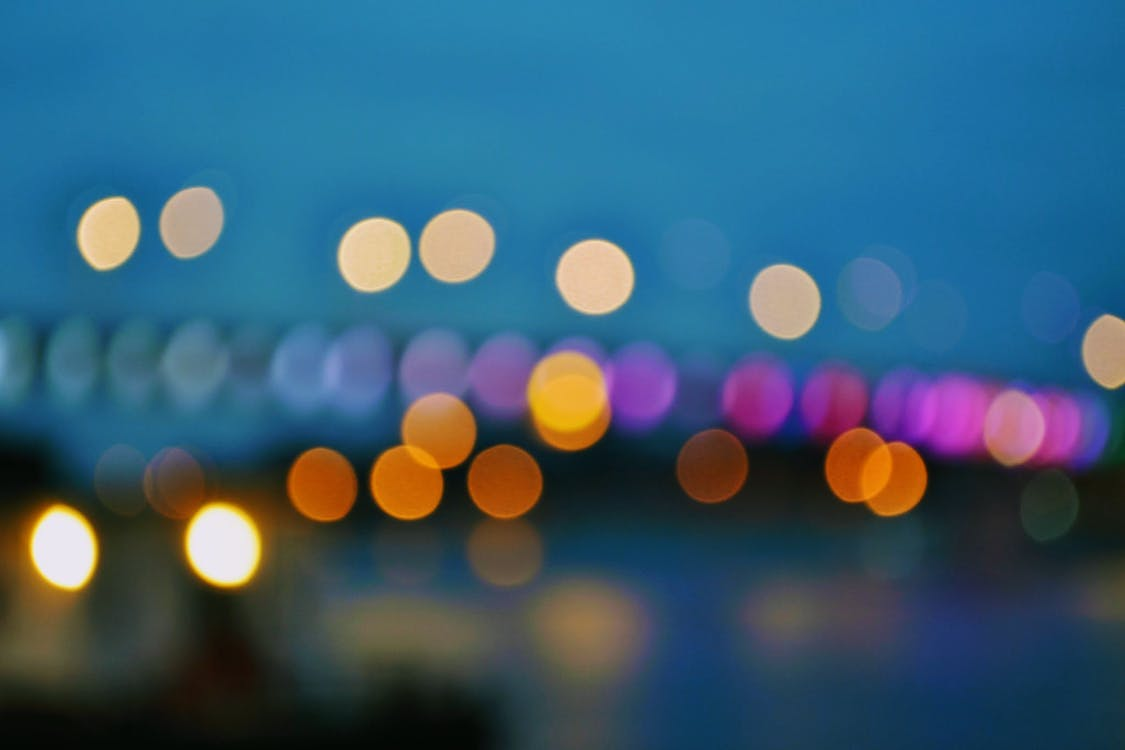 Free stock photo of bridge, circles, dark