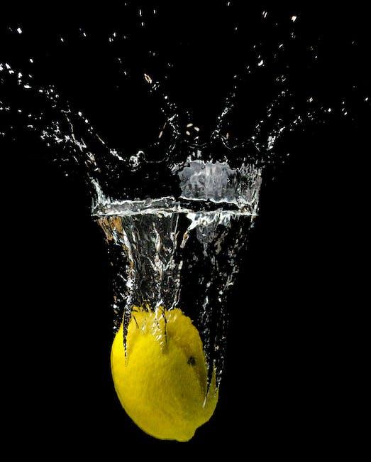 New free stock photo of water, lemon, fruit
