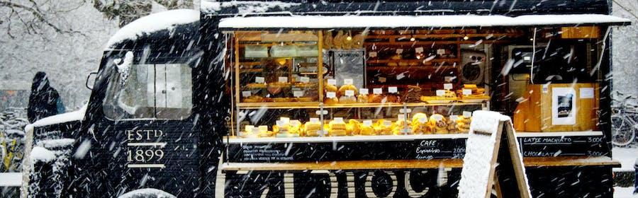 Photo of automobile, automotive, bakery