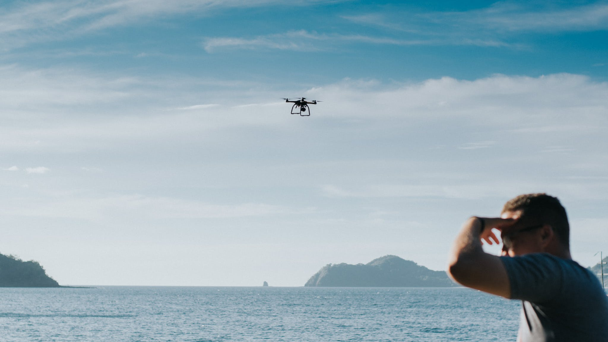 Free stock photo of drone, see