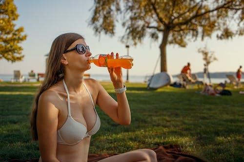 Free stock photo of beach, bikini, refreshing
