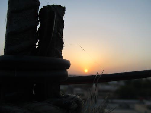 Kostenloses Stock Foto zu abendsonne, goldene sonne, sonnenstrahl, sonnenstrahlen