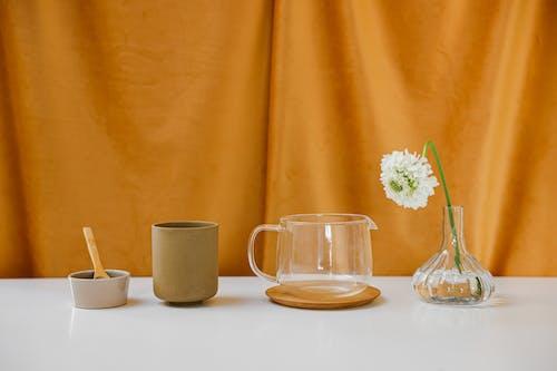 Gratis lagerfoto af blomst, bord, Bordservice