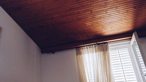 Darmowe zdjęcie z galerii z brązowy, drewniany, drewno, kurtyna