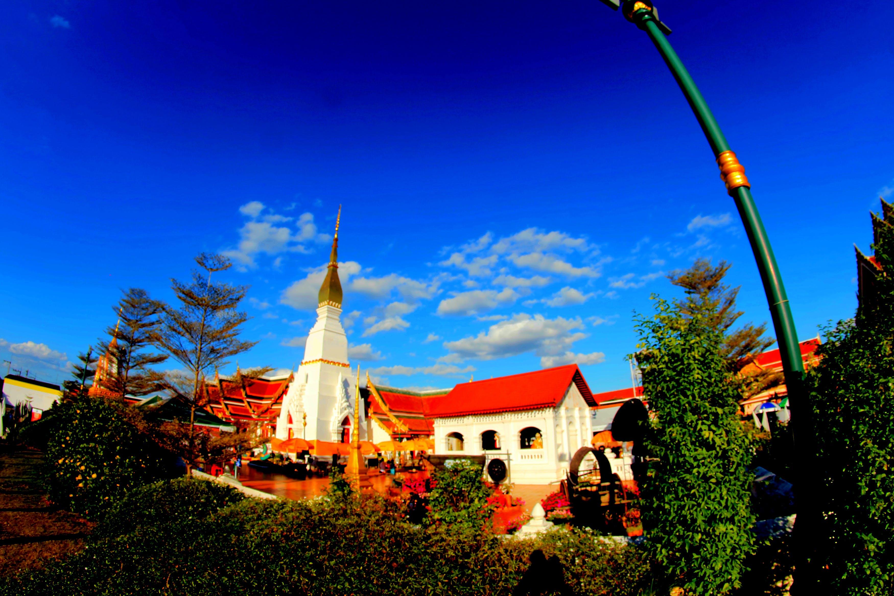 Free stock photo of sky, art, landmark, blue