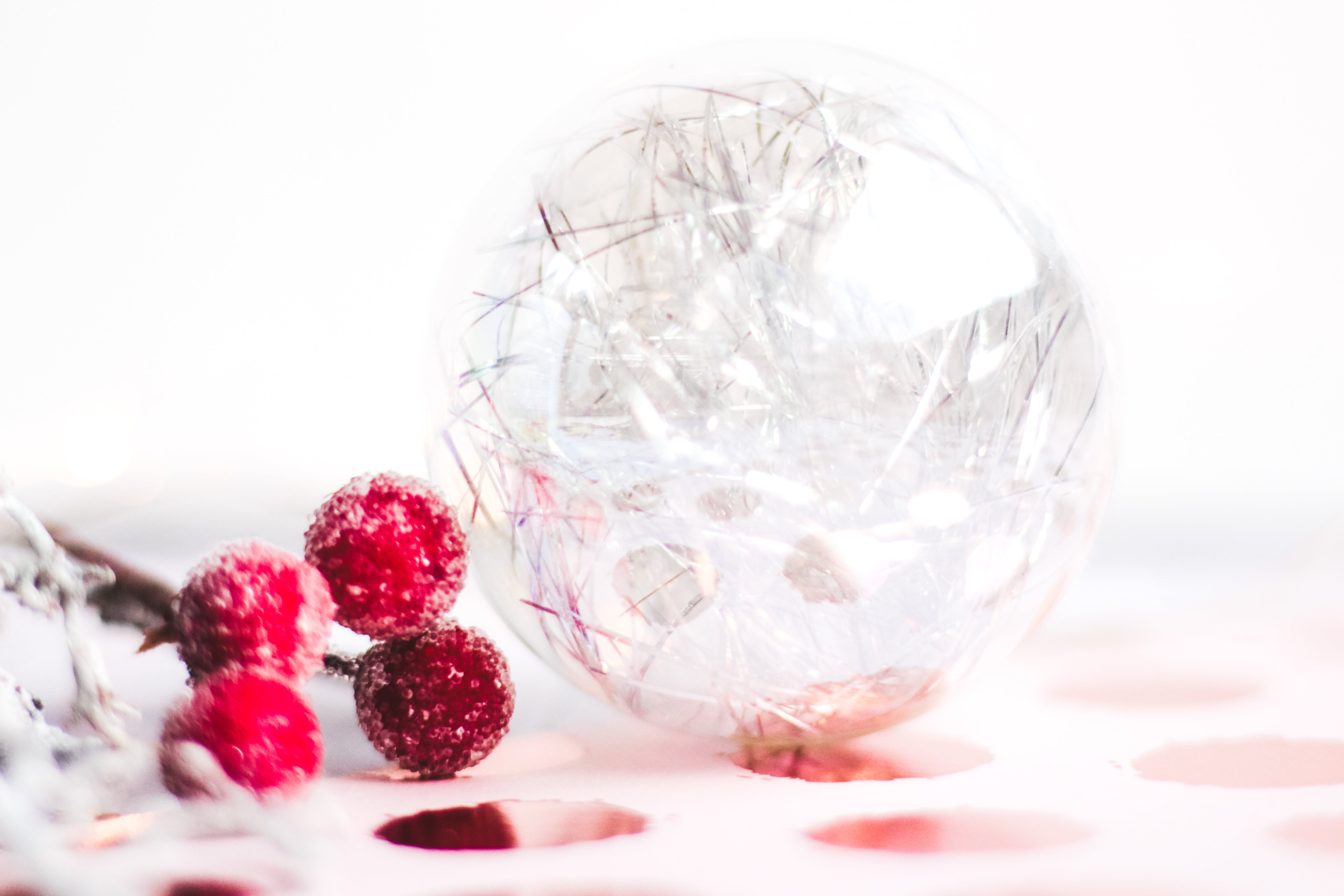 Clear Glass Marble Toy