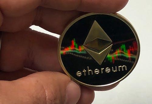 Бесплатное стоковое фото с etherum, диаграммы