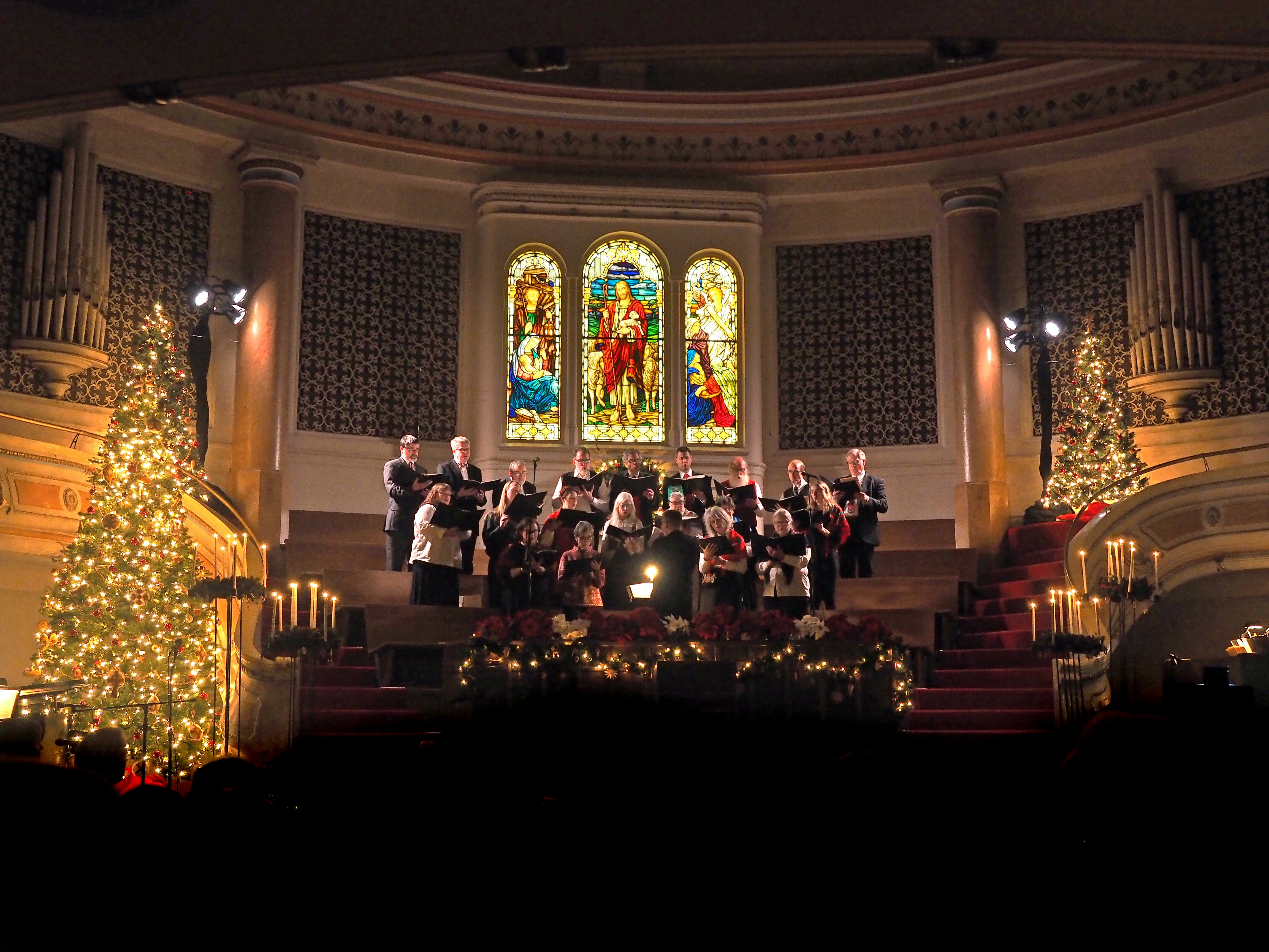 Free stock photo of candles, choir, christmas, Christmas servce