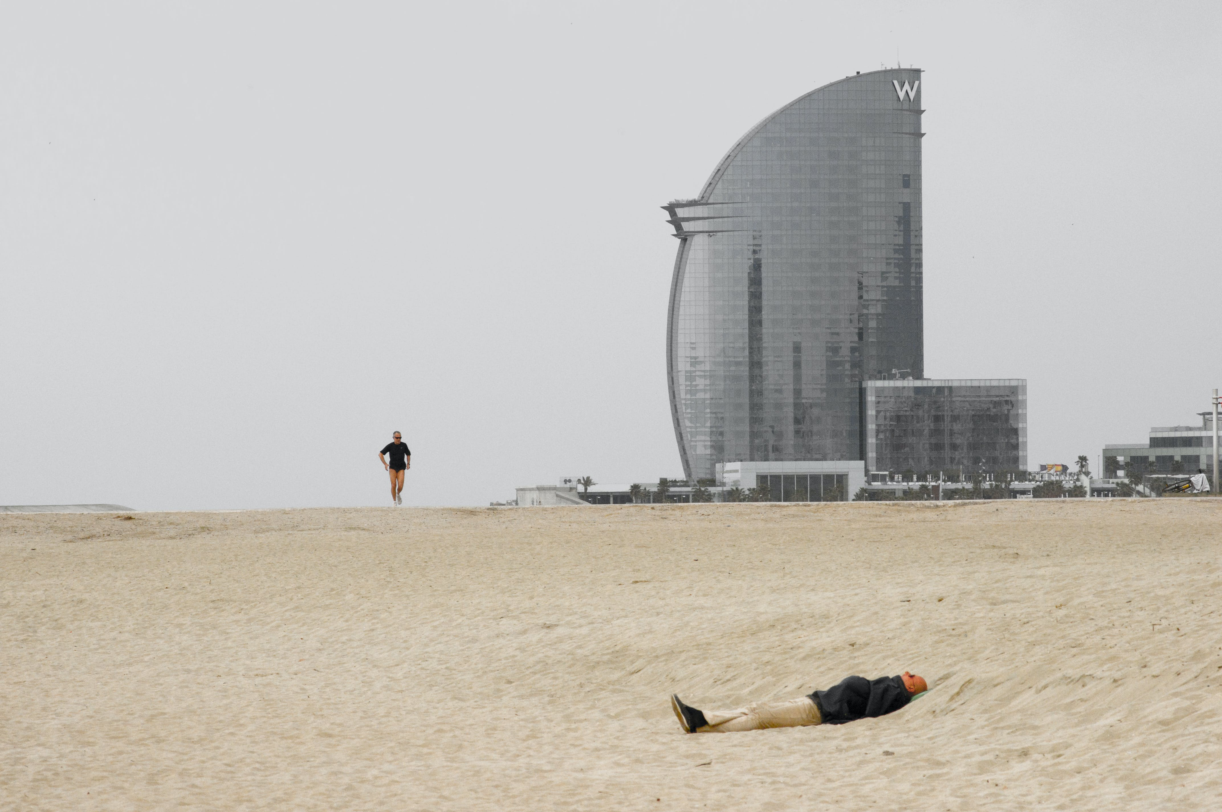 Free stock photo of barcelona, beach, city, hotel w