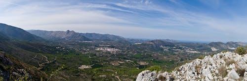 Free stock photo of Alicante, landscape, rocks, sky