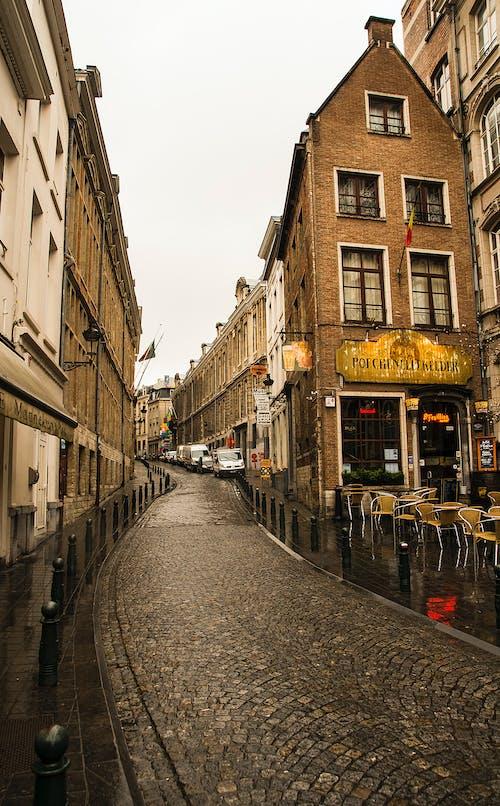 Free stock photo of bar cafe, Belgium, city, curve