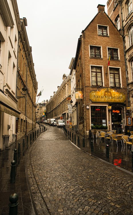 Free stock photo of bar cafe, Belgium, city