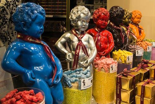 Gratis lagerfoto af barn, Belgien, chokolade, peeing boy statue
