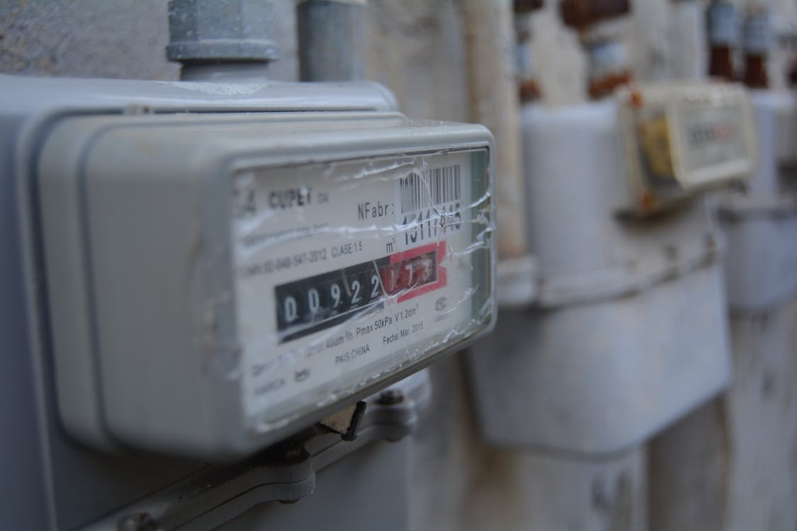Free stock photo of electricity, meter, stained