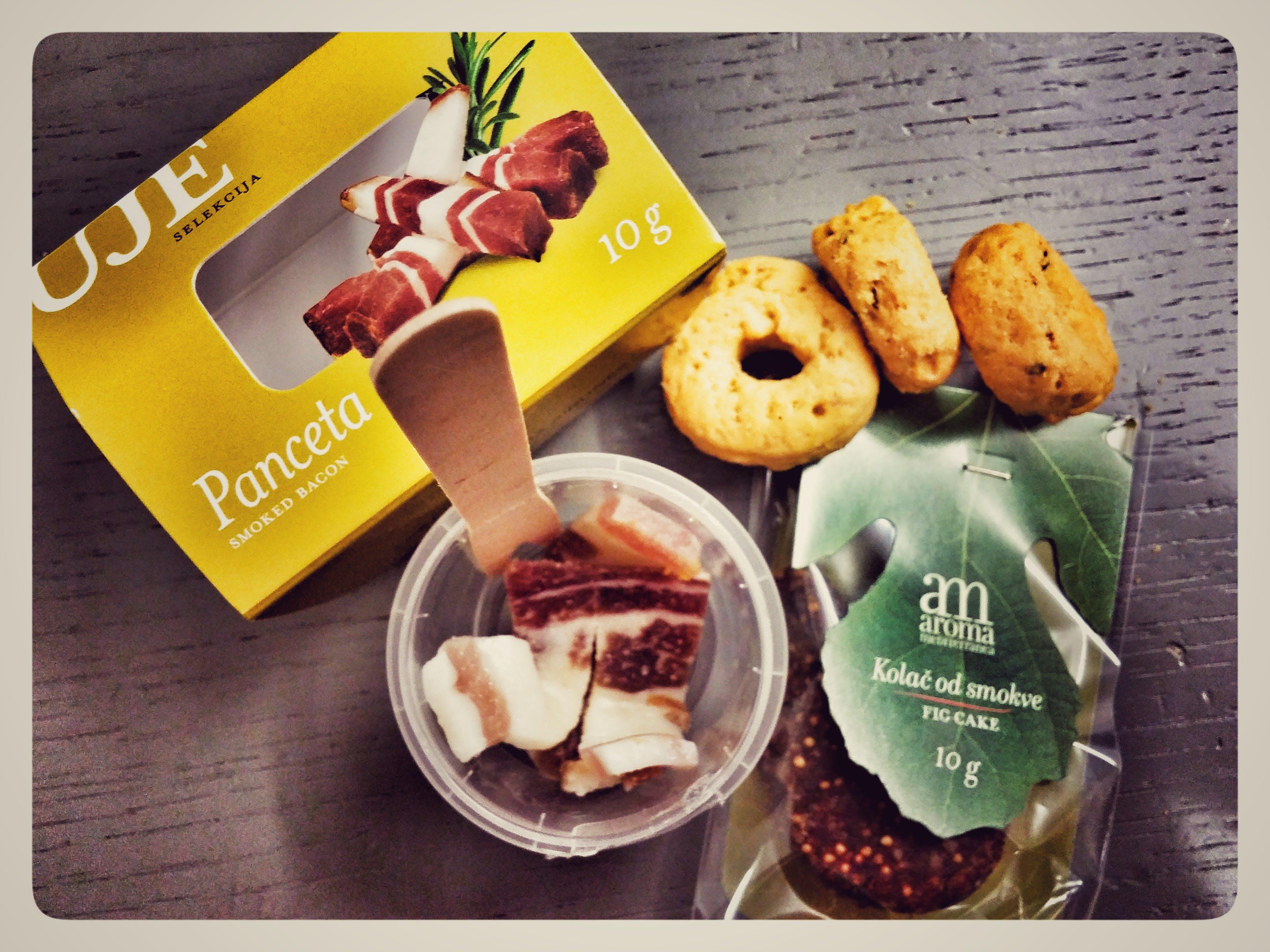 Gratis arkivbilde med mat, panceta, snacks, taraline