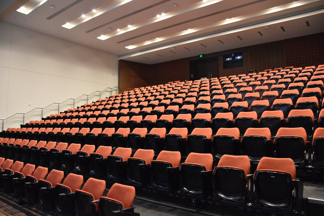 Free stock photo of auditorium, lecture hall, lecture theatre