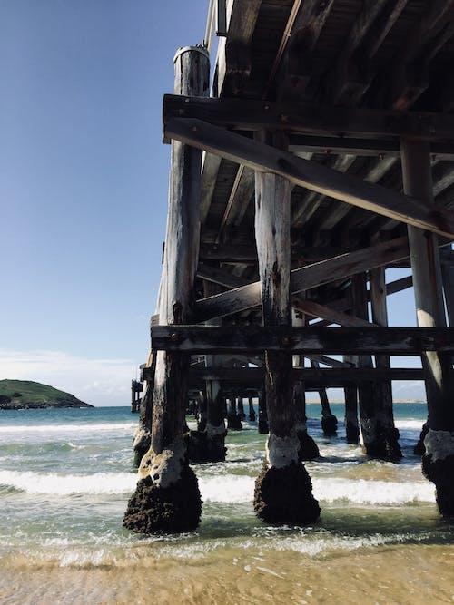 Ảnh lưu trữ miễn phí về biển, bờ biển, cát, cầu cảng