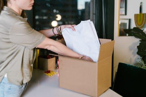 包, 女人, 打包 的 免費圖庫相片