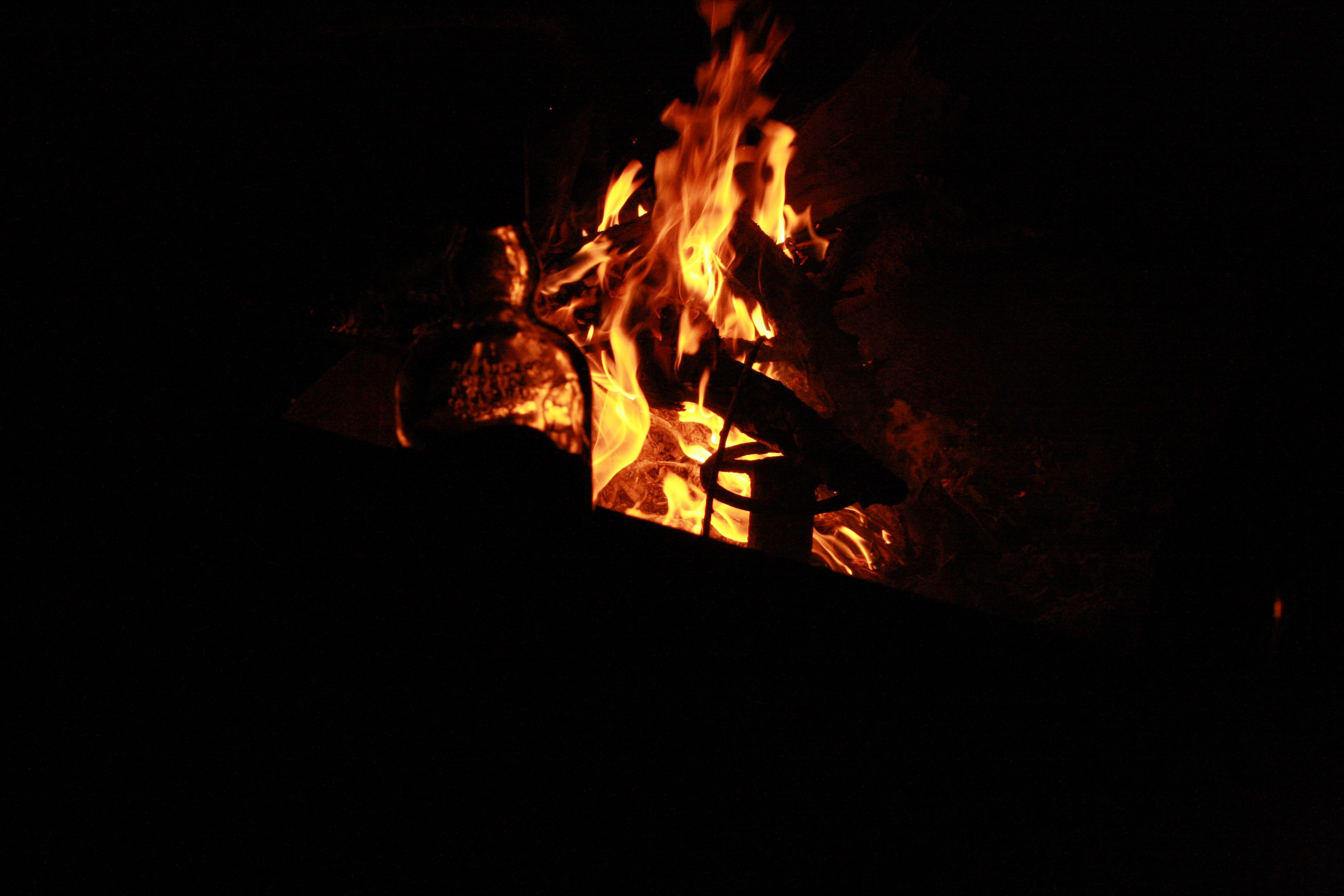 Kostenloses Stock Foto zu feuer, grill, party