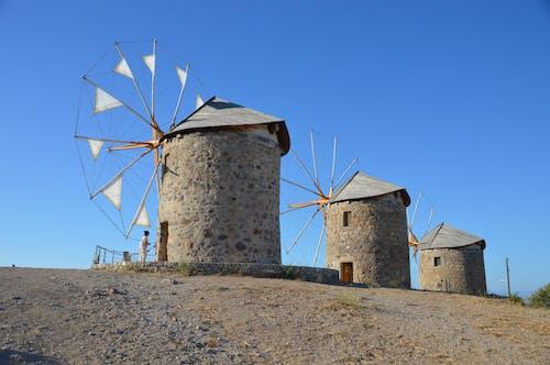 그리스, 에게 해, 파트 모스 섬의 무료 스톡 사진