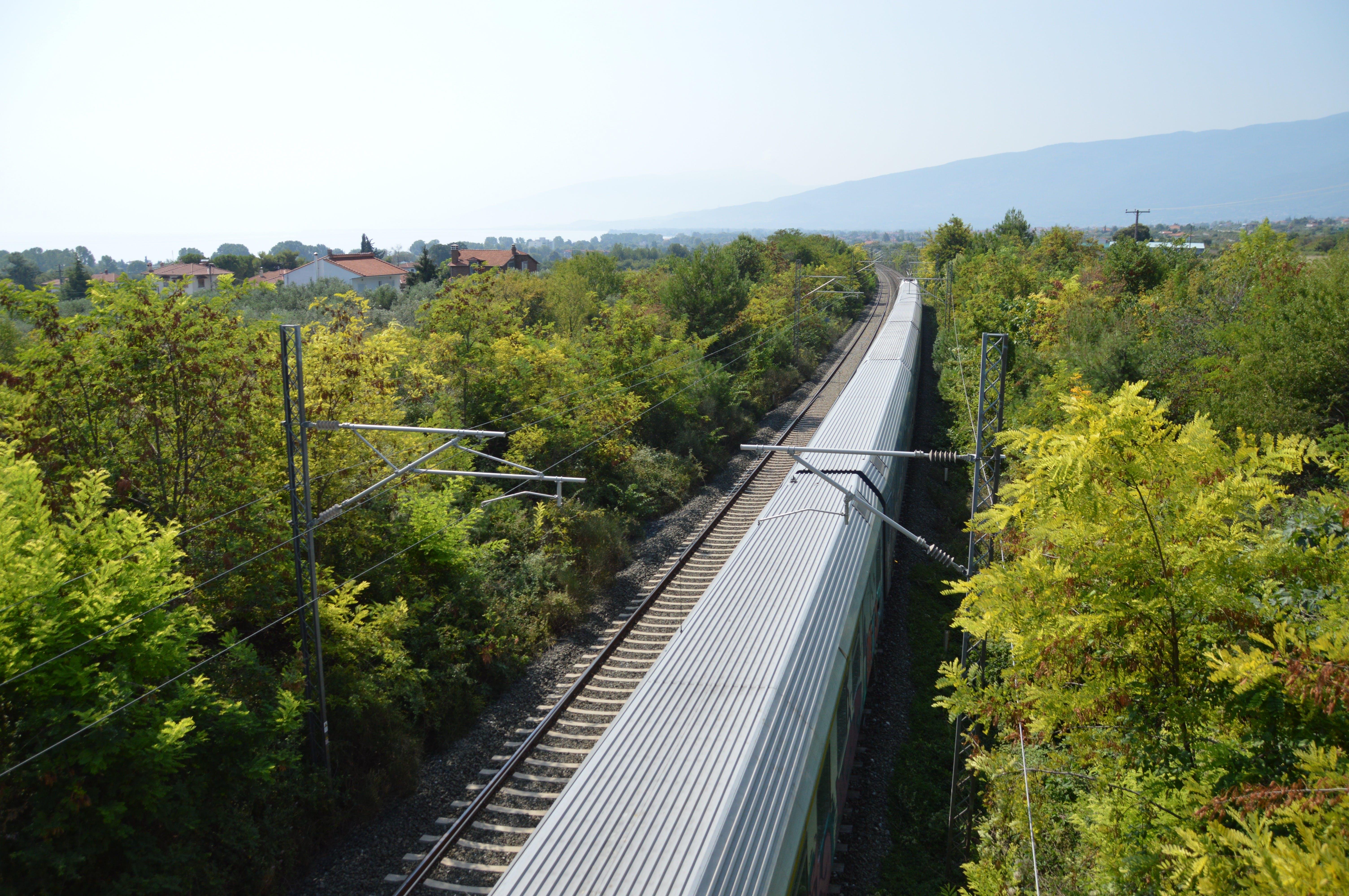 Free stock photo of electric train, greece, olympus, Pieria