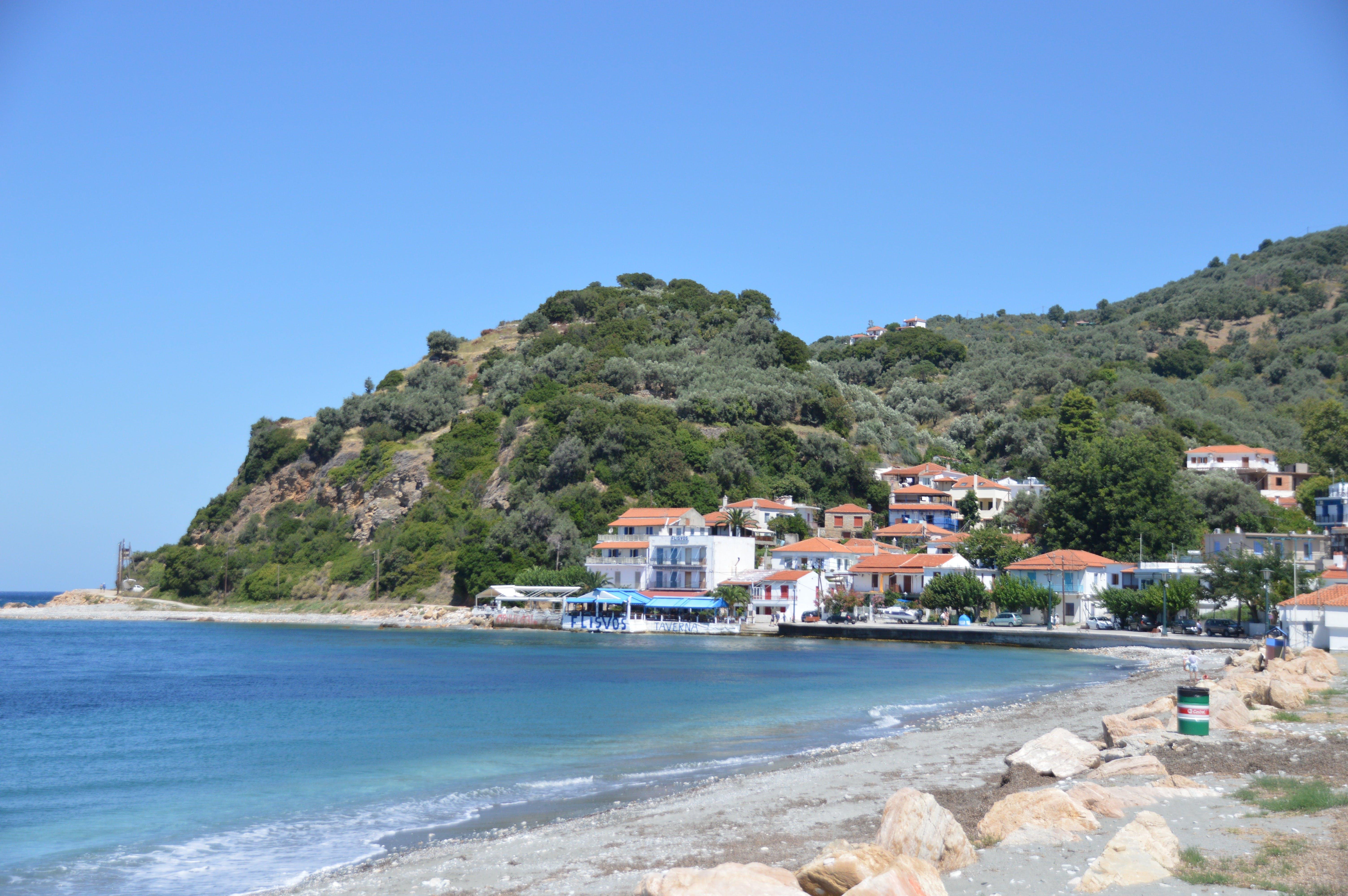 Free stock photo of aegean, greece, Loutraki harbour, Skopelos Island