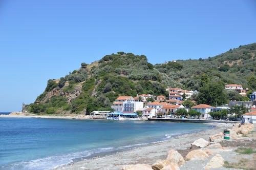sporades, 그리스, 루트 라키 항구, 스코 페 로스 섬의 무료 스톡 사진